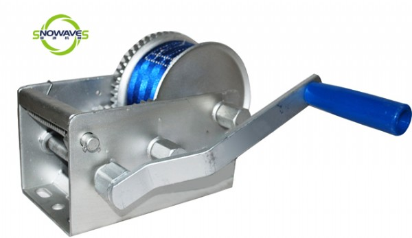 3300W HAND WINCH(WEBBING) DOCROMET WITH REMOVABLE HANDLE
