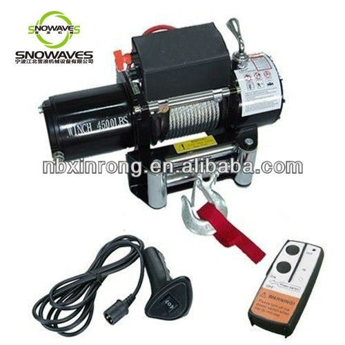 4500lbs Electric Winch