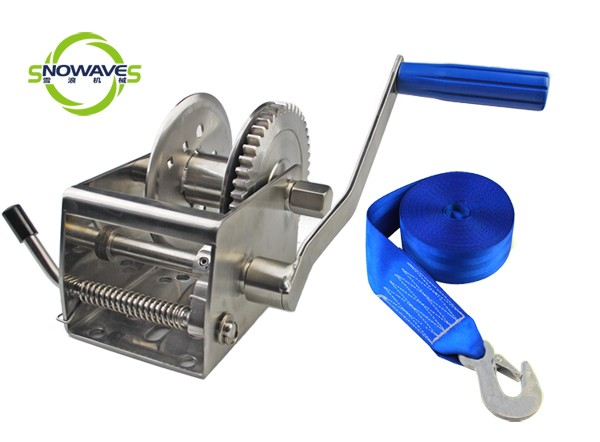 1500lbs 700kg stainless steel hand winch