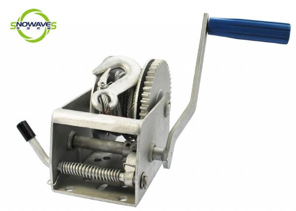 hand winch (cable)dacromet removable