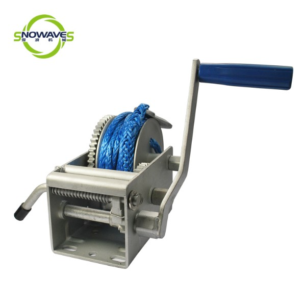 hand winch(dyneema)dacromet removable