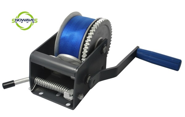 hand winches(webbing)powder removable