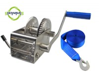1500lbs 700kg stainless steel hand winch(SW1500W SS304)